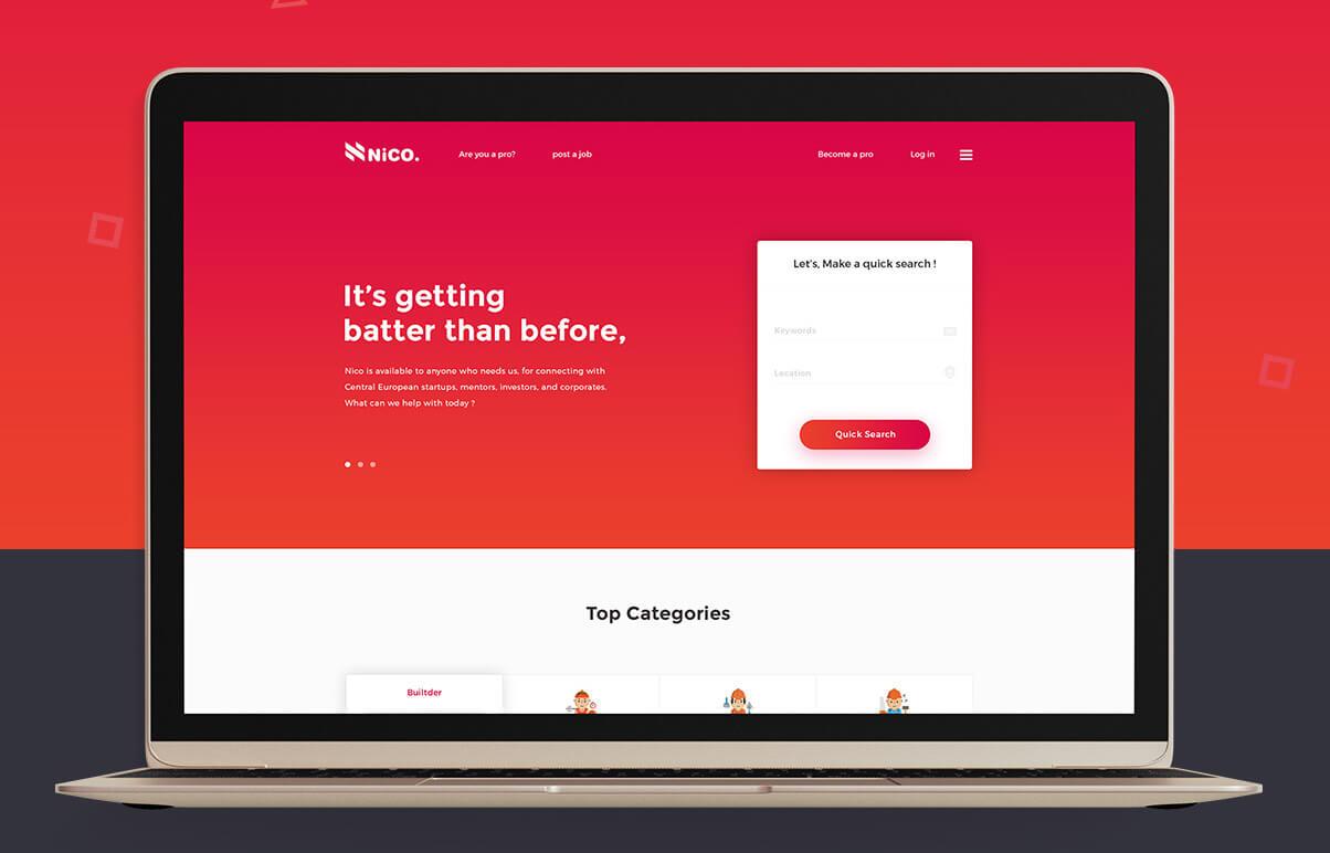 """NICO"" Home Service Provider Marketplace"